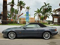 Aston Martin DB7 Vantage Volante (Jorge Villasante [Jore]) Tags: martin convertible cabrio aston puertobanus volante vantage exoticcar db7 carspotting astonmartindb7vantagevolante