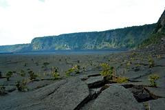 Kilauea Iki Trail hike (heartinhawaii) Tags: mountain nature landscape volcano hawaii lava rocks hiking hike caldera hawaiian bigisland volcanic kilauea lavafield kilaueaiki lavatrail kilaueacaldera hawaiiisland kilaueaikitrail nikond3100 bigislandinfebruary hawaiiinfebruary