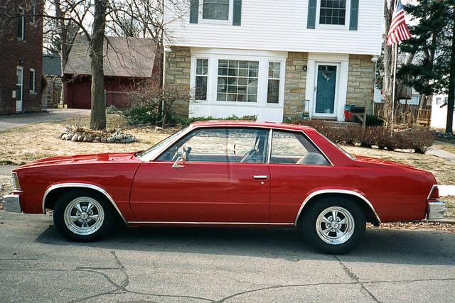 classic chevrolet malibu chevy 1978