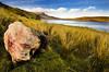 The Old Man of Storr, Skye (Corica) Tags: uk greatbritain grass rock clouds scotland loch oldmanofstorr syke sigma1020 corica leathan canon400d lochfada brotain