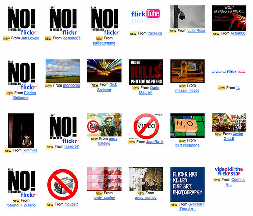 Anti-Video Sentiment Among Flickr Users Growing