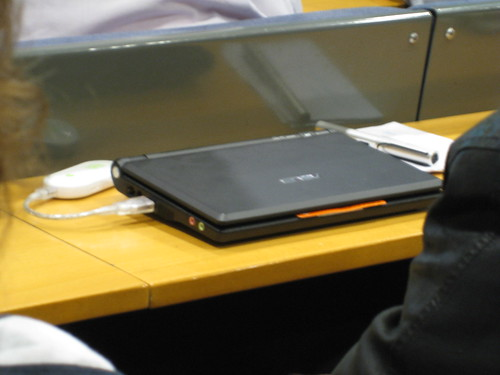 EeePC with Three dongle