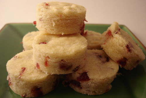 Dried Cranberry Shortbread