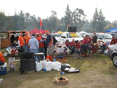 Tailgating at the Rose Bowl