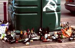 Overdose (manu/manuela) Tags: street france wine bottles panasonic via drinks vin vino bottiglie bouteilles lumic alcools dmctz3