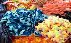 moooorbide (spongy.nana) Tags: stella proud stand pretty colours candy bologna mercato dolci bancarella delfino mercatino caramelle squalo