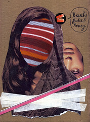 Beauty Fades (Nico Garassino) Tags: woman art girl beauty collage illustration mouth poster design mujer arte mina carton diseo belleza fades desaparece ffffound