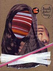 Beauty Fades (Nico Garassino) Tags: woman art girl beauty collage illustration mouth poster design mujer arte mina carton diseño belleza fades desaparece ffffound