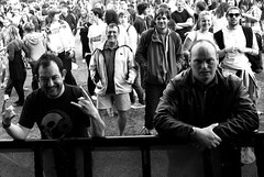 Hub Festival. WeKindred Spotted in the Crowd behind Cpt.Rock and Mr Happy (Brian Johnson ) Tags: music liverpool liverpool2008 liverpoolcapitalofculture2008