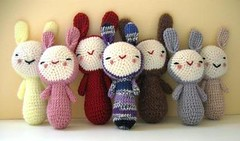 Rabbits everywhere ( voir etc...) Tags: cute rabbit toy happy crochet softie kawaii plushie amigurumi crocheted lapin