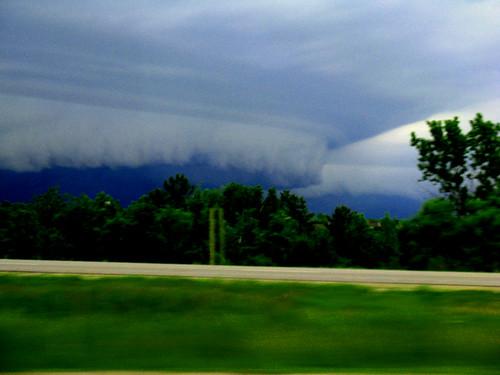 Shelf Cloud in Delafield