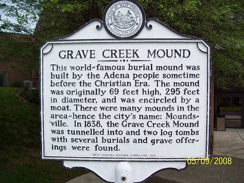 Grave Creek Adena Indian Mound