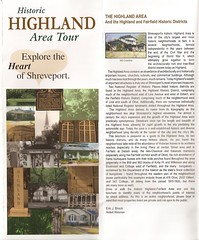 Front Cover HRA Historic Tour Guide June 2008 w/ Eric Brock's Introduction