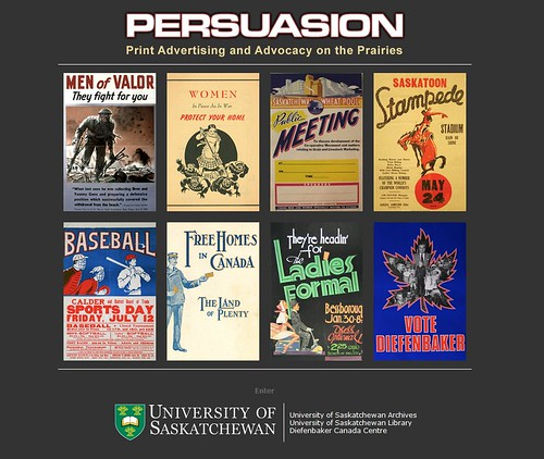 Persuasion: Print Advertising and Advocacy on the Prairies