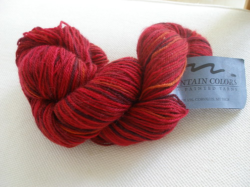Mountain Colors - Ruby Red