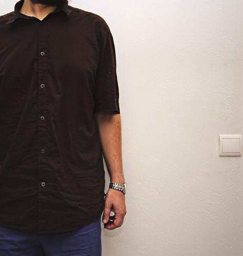Camisa boxers reloj (365-40)