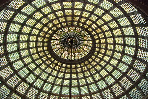 Tiffany Dome restoration: Amazing.