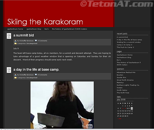 Ski the Karakorum