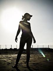 Woman Silhouette (Paulo Brando) Tags: espaa island spain espanha insel paulo isla ilha spanien spagna spanje eiland isola le       lespagne  nothdr brandao     paulobrandao  5wordcommentsarewelcome