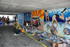 DSC_0748 (Kurt Christensen) Tags: art beach painting mural surf thrust gilgobeach gilgo