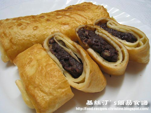 Red Bean Pancakes豆沙煎薄餅 01