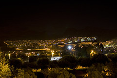 Adeje at night (michaelgrohe) Tags: ocean vacation costa holiday night island kanaren canarias atlantic tenerife teneriffa riu inseln adeje