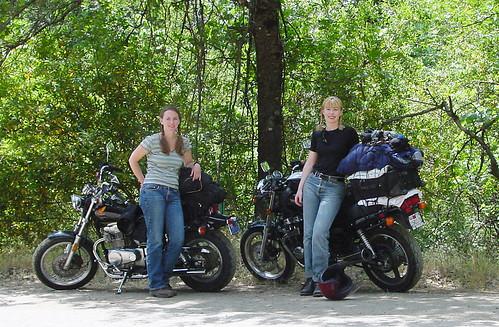 Memorial Day 2001 Biketrip to Napa - Julie & Laura