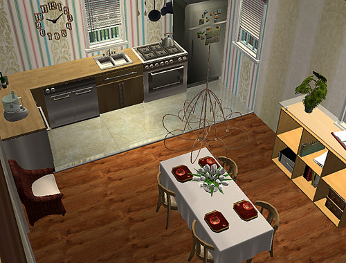 kitchen & dining by jlebaron.