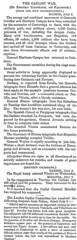 Article del diari The Times, del 10 de Juliol de 1875. On surt Vistabella del Maestrat
