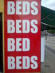 BEDS BEDS BED BEDS (suburbanslice) Tags: cameraphone colour london digital geotagged bed beds s stratford plural ort newham lbn londonboroughofnewham lbnewham