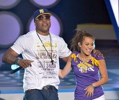 ll cool j & hanna montana Teen Choice Awards