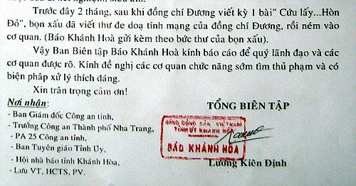 Cv bao Khanh Hoa