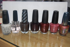 Favorite Nail Polishes (mstakesue) Tags: nail polish opi