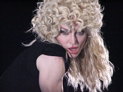 She is licking her lips And she's batting her eyes (moniketta) Tags: music france nice concert live madonna concerto musica 2008 francia nizza hotticket dalvivo livenation stickysweettour 260808 lastfm:event=614651 stadecharlesehrmann