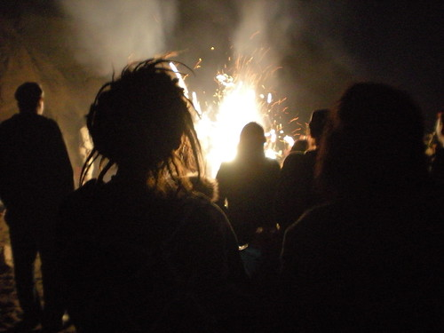 Balsa Man Burn 2008