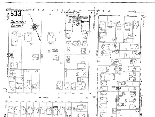 Original and Final Sites for 919 West 20th Street Residence
