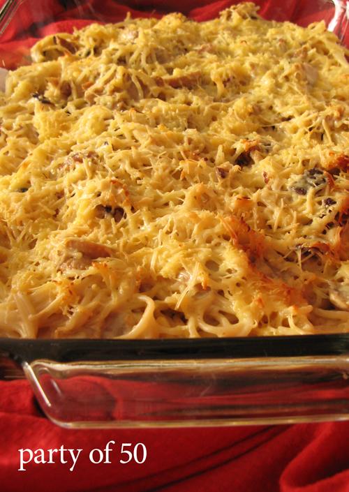 Spaghetti Tetrazzini (with title)