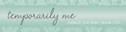 temporarily me blog banner