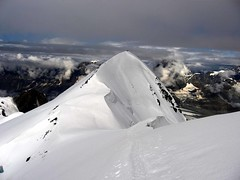 Breithorn (Andrea.it) Tags: snow mountains alps clouds climb glacier valledaosta colorphotoaward 4000s