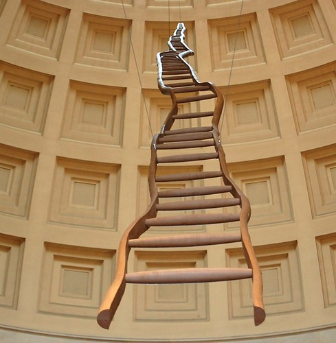 Martin Puryear's Ladder for Booker T. Washington at National Gallery