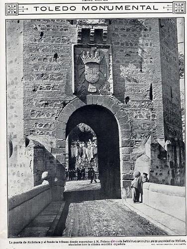 Visita a Toledo del presidente francés Poincaré en 1913