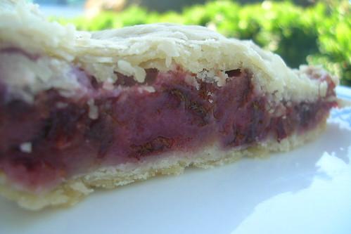 Italian Prune Pie
