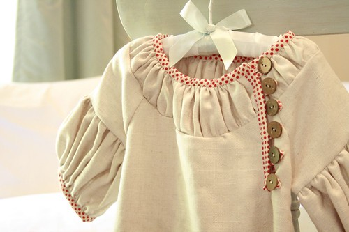 village frock close up