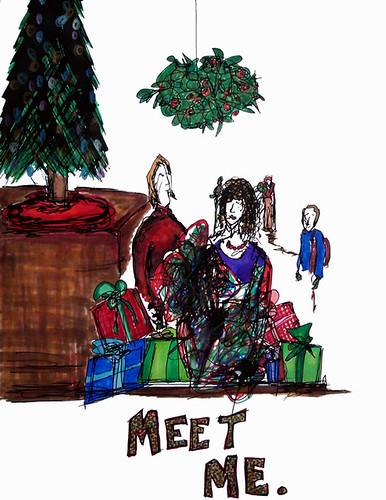 MEET ME... under the Mistletoe