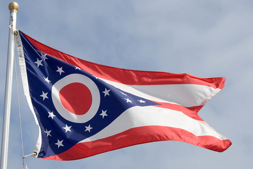 Image of the Ohio state flag.