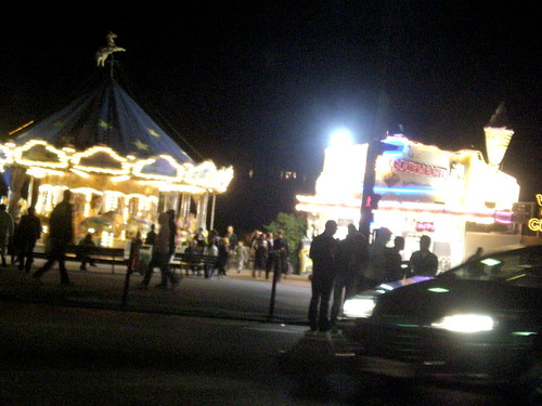 Carousel and Waffle Stand