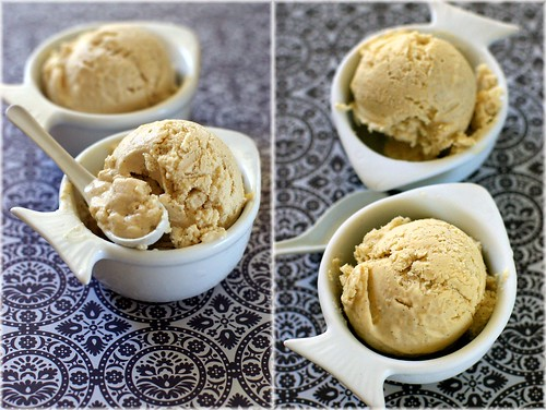 roasted pear frozen yogurt