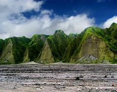 Mt. Pinatubo's Artwork (Storm Crypt) Tags: trek volcano jeep 4x4 stones hill trail mountaineering mountainside caverns canyons eruption mtpinatubo lahar pampanga tarlac zambales stratovolcano mountpinatubo