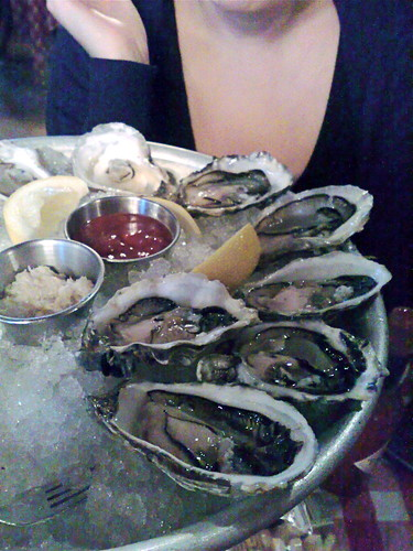 PJ Clark's oysters