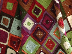 Granny Square Close Up